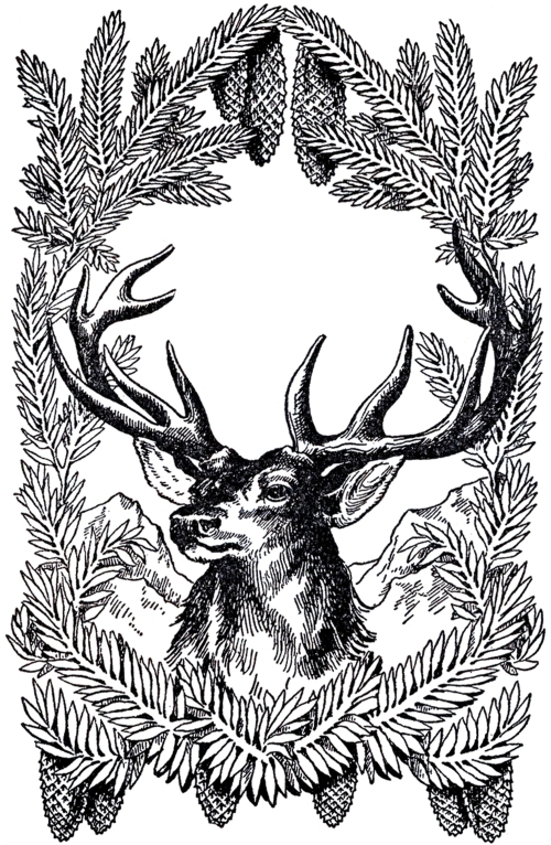 Vintage-Christmas-Deer-Image-GraphicsFairy