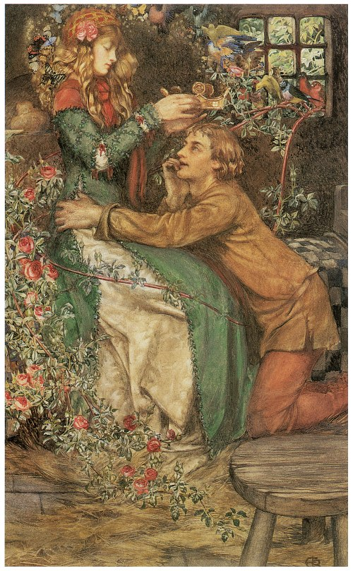 Natural Magic by Eleanor Fortescue Brickdale, 1905