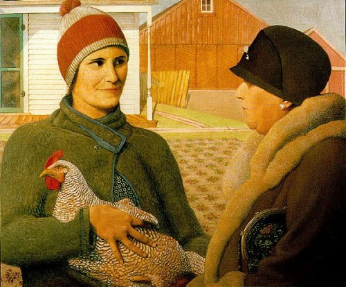 Appraisal by Grant Wood, 1931