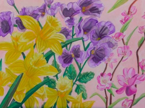 Spring Flowers by Lisa Repka