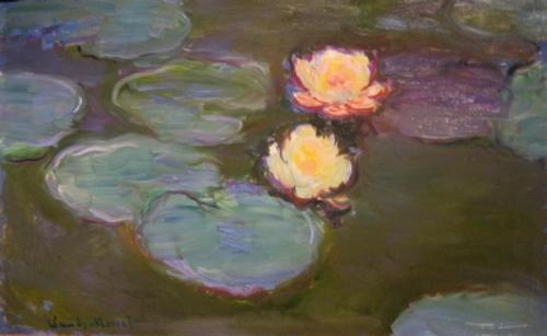 Claude Monet, Nympheas, c. 1897