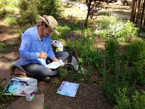 Garden Artist Marianne Flenniken