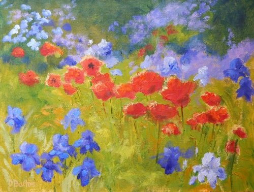 Deb Bartos - Monet's Garden, Giverny, France.