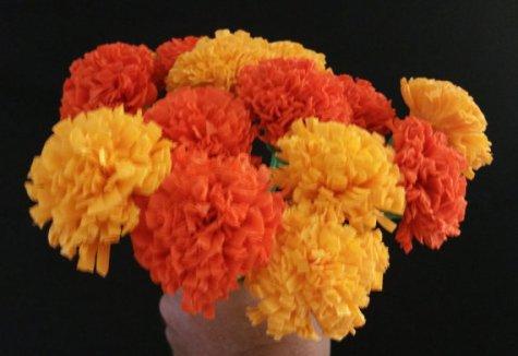 crepepapermarigolds