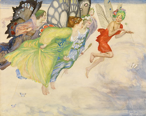Robert_Anning_Bell_1901_A_Flight_of_Fairies